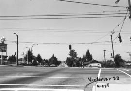 Victoria Drive and 33rd [Avenue looking] west