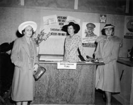Women at Queen's Canadian Fund display