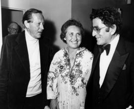 Hugh Pickett , Simma Holt and Tony Bennett