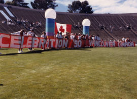 Celebration '90 Vancouver Canada banner