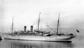 [Unidentified steamship]