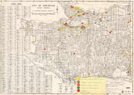Vancouver's high-tech industry location map plus G.V.R.D. [Greater Vancouver Regional Distri...