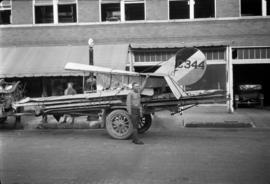 [Airplane C344 on a trailer]