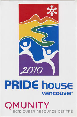 2010 Pride House Vancouver : Qmunity BC's Queer Resource Centre