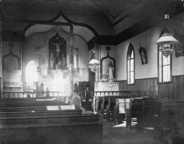 [Interior of] Holy Trinity church [2380 Pine Street]