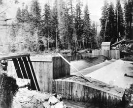 [First dam on Capilano River]