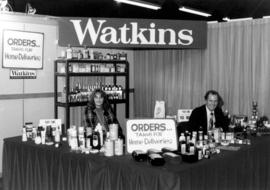 Watkins display of sundry goods
