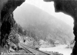"""The Four Tunnels"", Fraser Canyon, B.C."