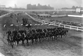 N.W.M.P. [North West Mounted Police] at Vancouver Exhibition