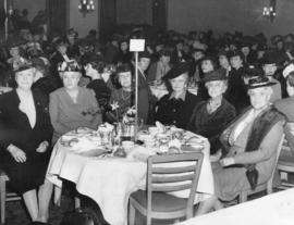 [Past presidents of the Women's Canadian Club at a Jubilee luncheon]