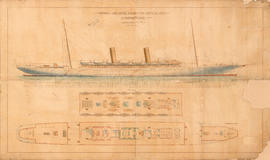 Proposed Twin Screw Steamer for North Atlantic [passenger vessel, Canadian Pacific Railway]