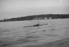 N.P.A.A.O. [North Pacific Association of Amateur Oarsmen. One-man scull at] Esquimalt