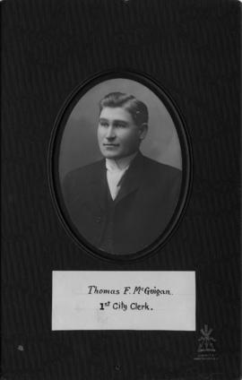 Thomas F. McGuigan, first City Clerk