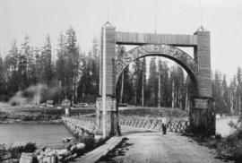 Entrance gate at Stanley Park