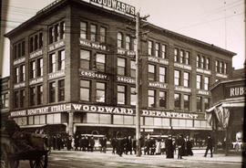 Woodwards store at Abbott Street and Hastings Street
