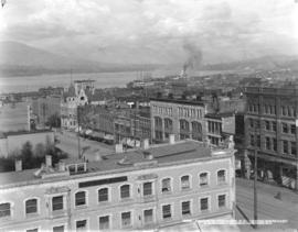 Portion of Vancouver, B.C. Looking Northeast