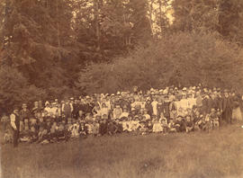 [Church picnic at Lynn Valley]
