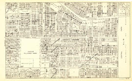Sheet S.V. 15 : Dawson Street to Boundary Road and Foster Avenue to Fiftieth Avenue