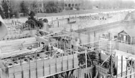 [Job no. V-9, 9a] : photo no. 4 : [photograph of construction site for Imperial Oil service stati...