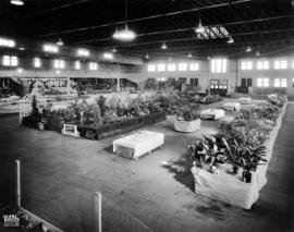 Agricultural and horticultural displays in Exhibition Forum