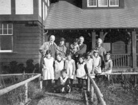A Group at the Fairbridge Farm School, Vancouver Island
