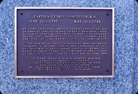 City Hall Vancouver's Ceremony, the plaque