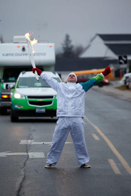 Day 027, torchbearer no. 110, Christopher W - Oromocto