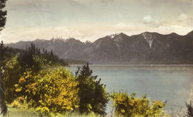 [View of] Howe Sound [from Bowen Island]