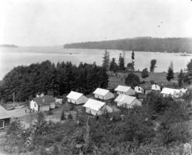 [View of unidentified resort area of Union Estates]