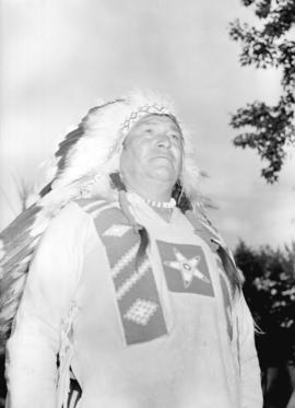 [Portrait of Stoney Indian]