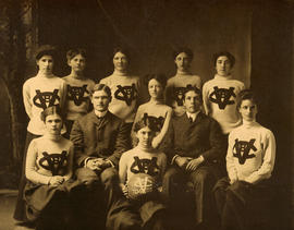 Ladies' Vancouver basketball team 1904-1905