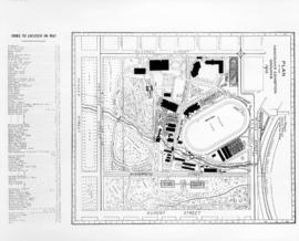 Plan of the Vancouver Exhibition Grounds 1915