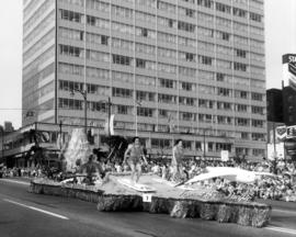 Pacific National Exhibition float in 1963 P.N.E. Opening Day Parade