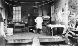 North Pacific Cannery [showing the kitchen detached from the mess house]
