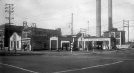 Standard Gas Station Main and Geogria Sts.
