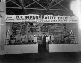 B.C. Impermealite Co. display of waterproofing products