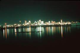 [View of downtown Vancouver at night from North Vancouver]