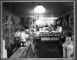 Interior of O.K. Grocery Store, 2353 East Hastings at Nanaimo