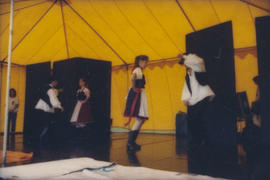 Dance performance on Chevron Stage
