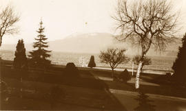 Kitsilano Park across from Melton Court, 1933