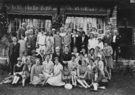 Wesley choir picnic, Stanley Park, Vancouver, B.C. June 22nd, 1929