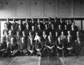 Photo of oldest members of David Spencer Limited staff - Taken on occassion of Store's Diamo...