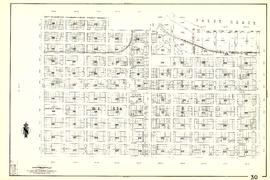 [Sheet 30 : Maple Street to Oak Street and Fourteenth Avenue to Third Avenue and False Creek]