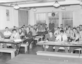 [B.C. Telephone employees getting classroom instruction]