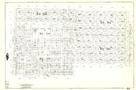 [Sheet 44 : Blenheim Street to Arbutus Street and King Edward Avenue to Fourteenth Avenue]