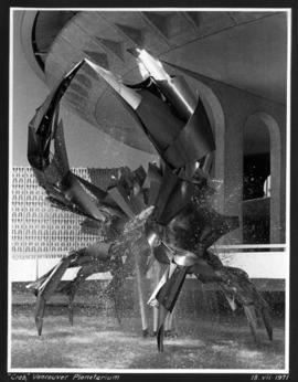 """Crab"" [sculpture in front of the] Vancouver [Museum] and Planetarium"