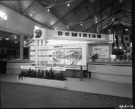 Dominion Stores display in Pure Foods building