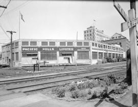 Pacific Mills Vancouver plant [at the foot of Campbell Avenue]