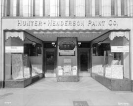 Hunter-Henderson Paint Company [at 555 Granville Street]