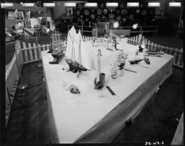 Model boats in 1959 P.N.E. Hobby Show